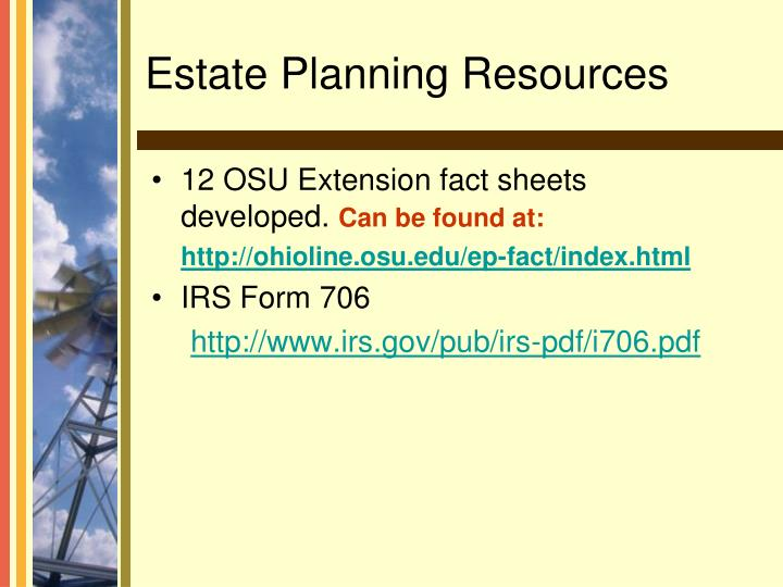 12 OSU Extension fact sheets developed.