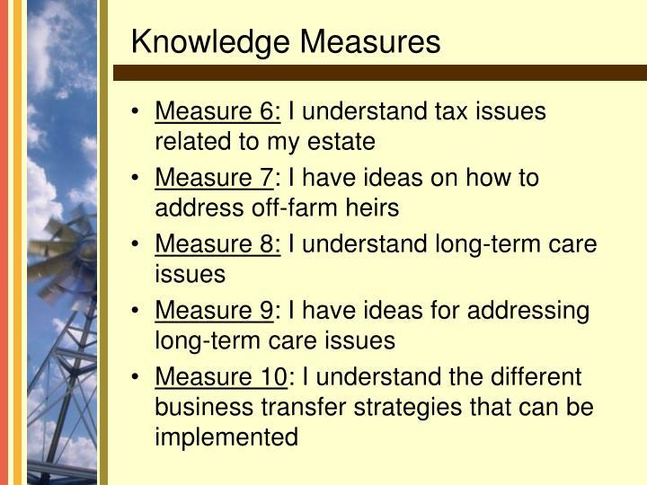 Measure 6: