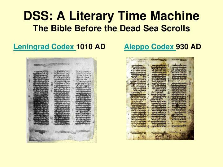 the biblical literature in the dead sea scroll