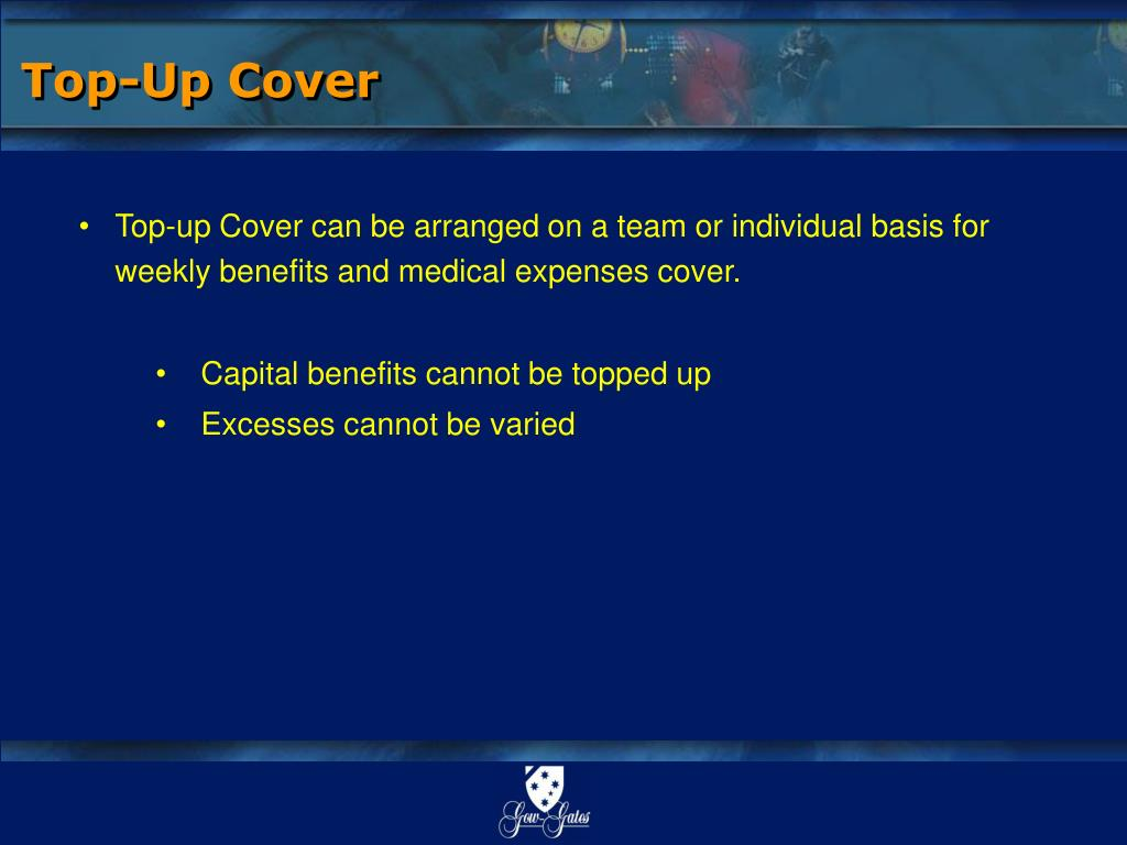 Top-Up Cover