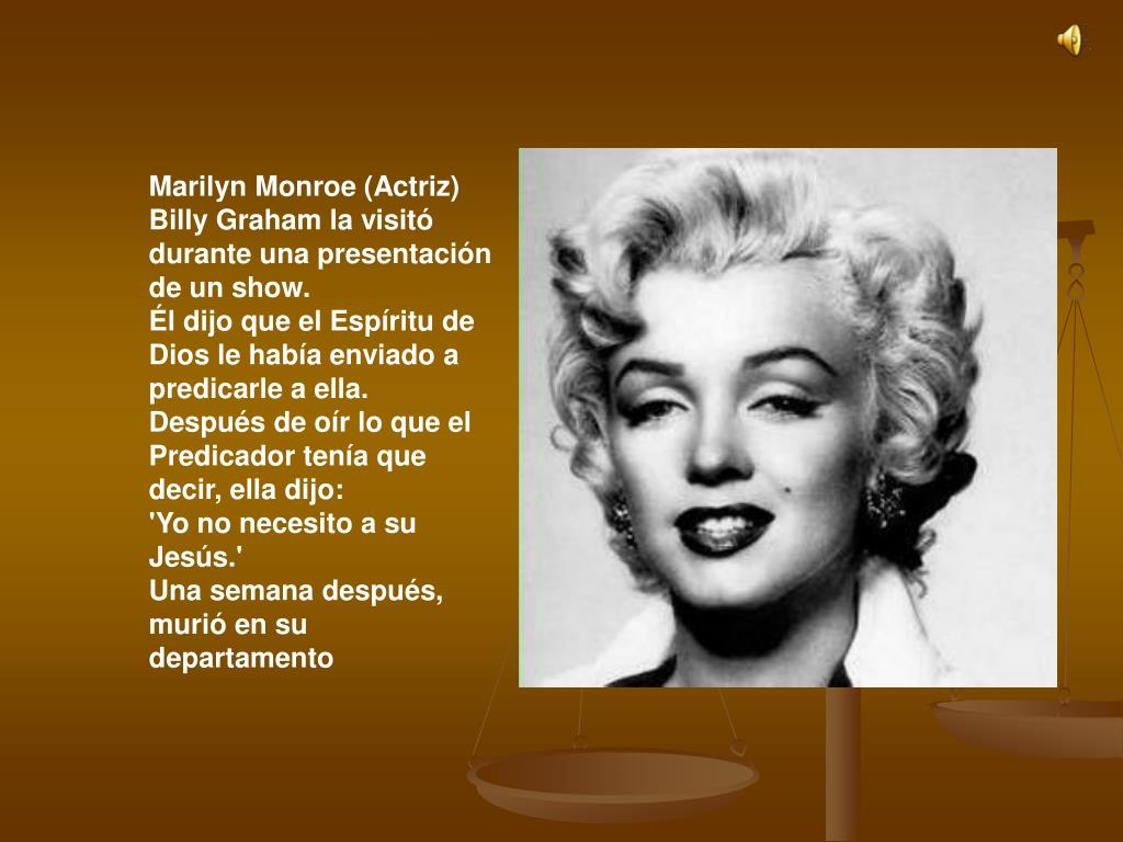 Marilyn Monroe (Actriz)