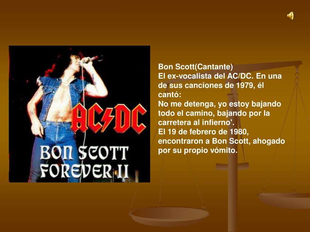 Bon Scott(Cantante)