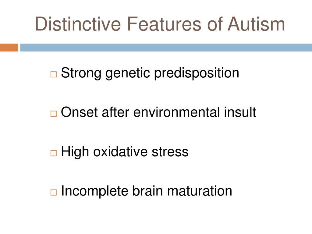 PPT - Oxidative Stress in Autism spectrum disorders PowerPoint