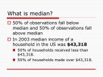 what is median