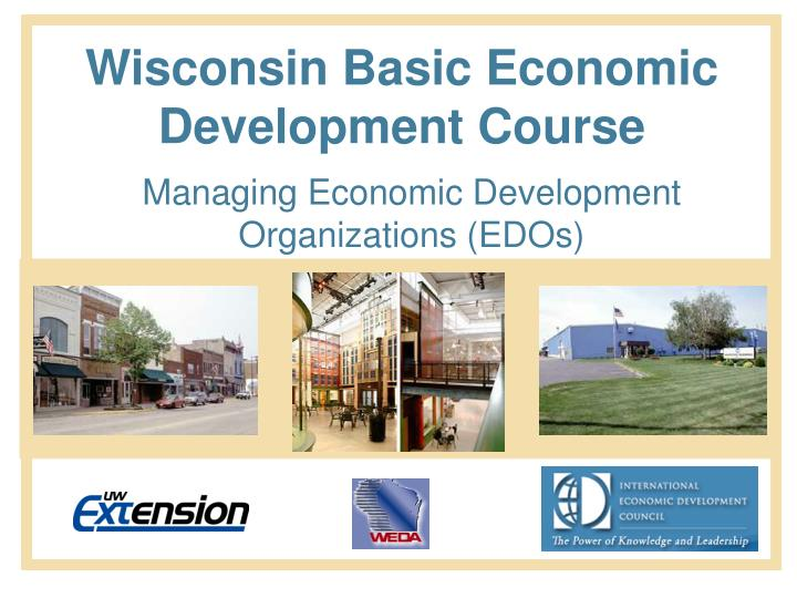 Wisconsin Basic Economic Development Course