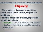 how governments determine citizen participation22