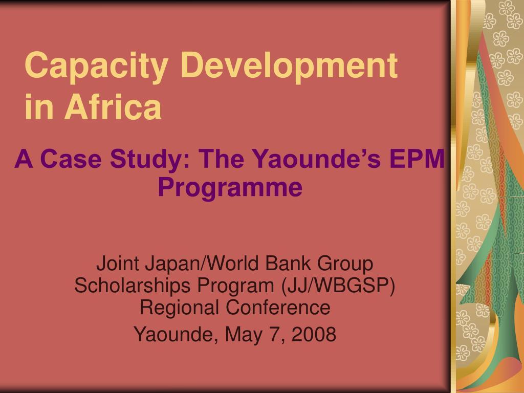 capacity development in africa
