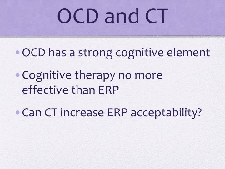 OCD and CT