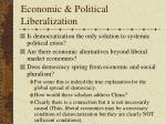economic political liberalization