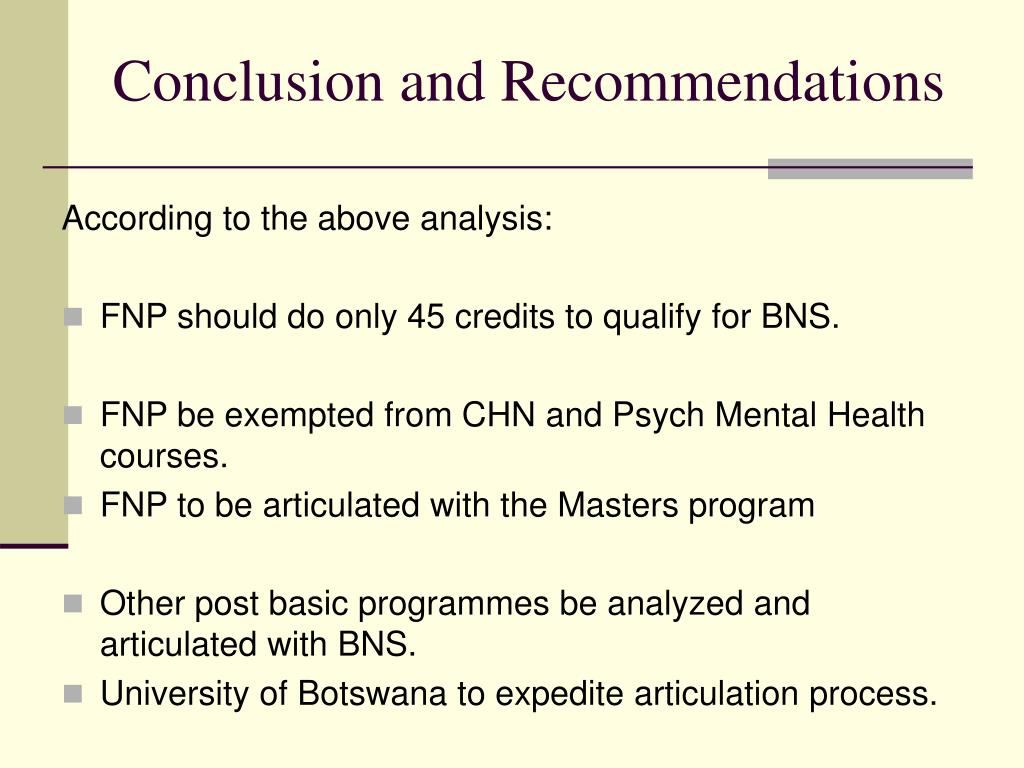 conclusion and recommendation for addiction Section vi general conclusion and recommendations 67 the evidence before us shows that: an increasing number of people drug addiction.