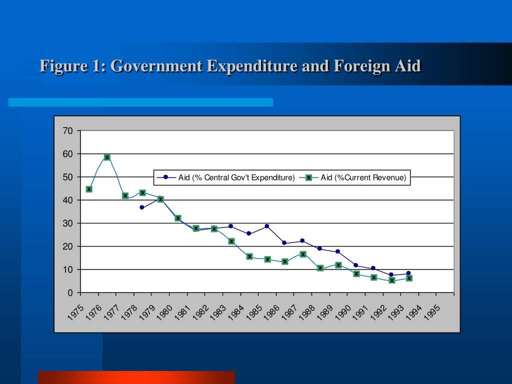 Figure 1: Government Expenditure and Foreign Aid