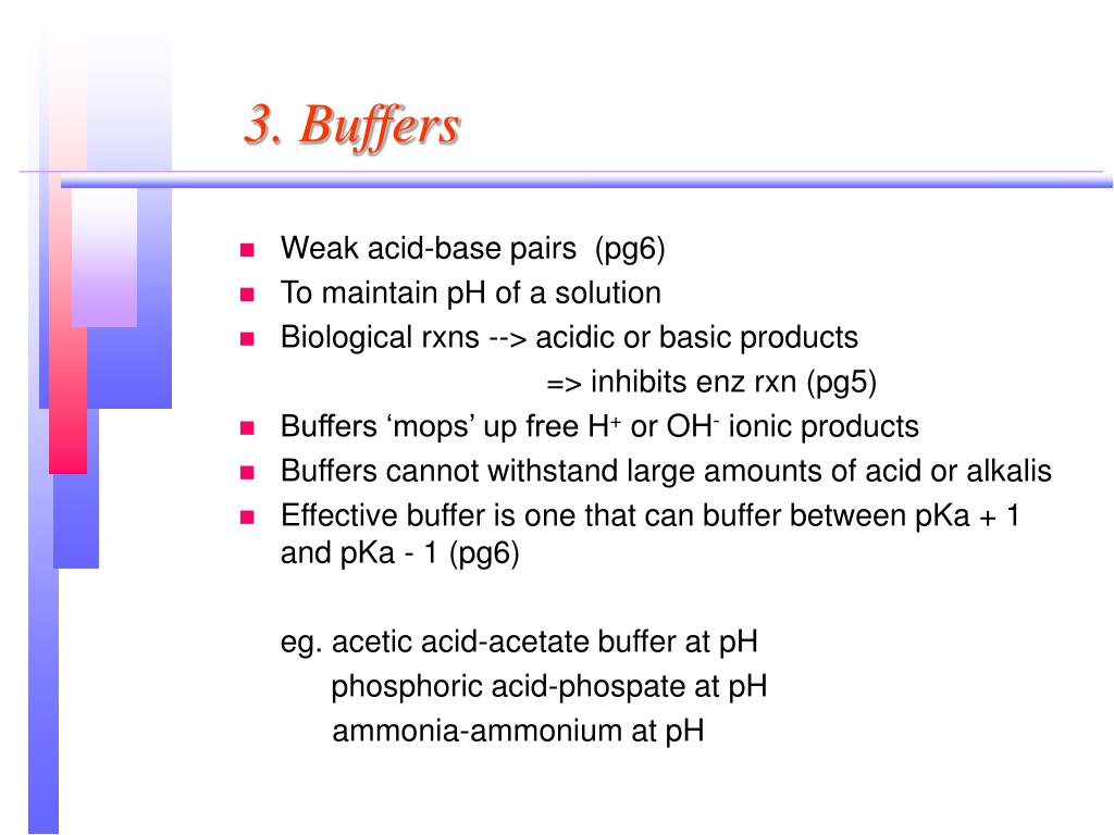 PPT - Part 1: pH, Buffers & Amino Acids PowerPoint Presentation - ID