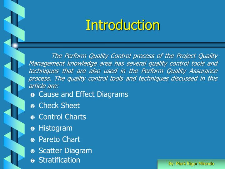 Ppt quality control tools powerpoint presentation id1049049 introduction ccuart Choice Image