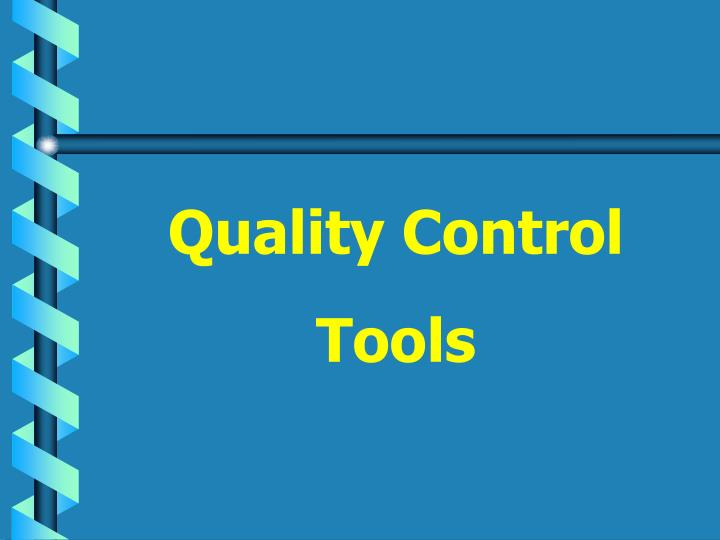 Ppt quality control tools powerpoint presentation id1049049 quality control ccuart Choice Image