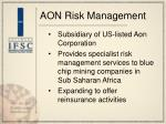 aon risk management
