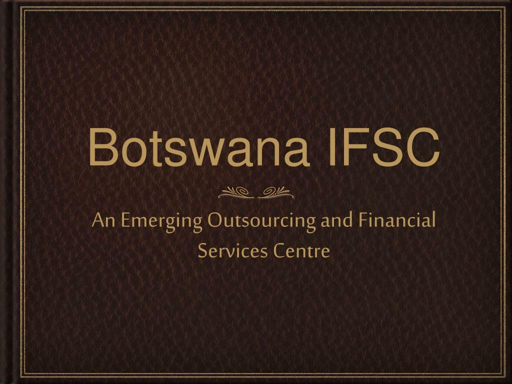 botswana ifsc l.