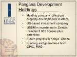 pangaea development holdings
