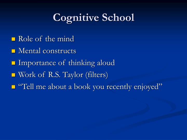 Cognitive School