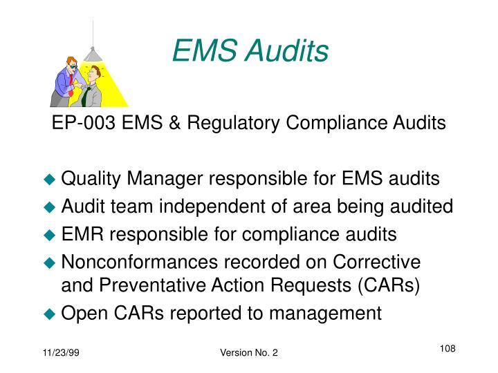 EMS Audits