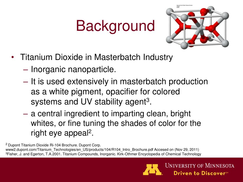 PPT - Titanium Dioxide in Masterbatch PowerPoint Presentation - ID