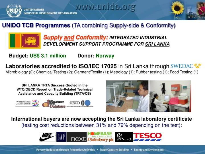 Laboratories accredited to ISO/IEC 17025