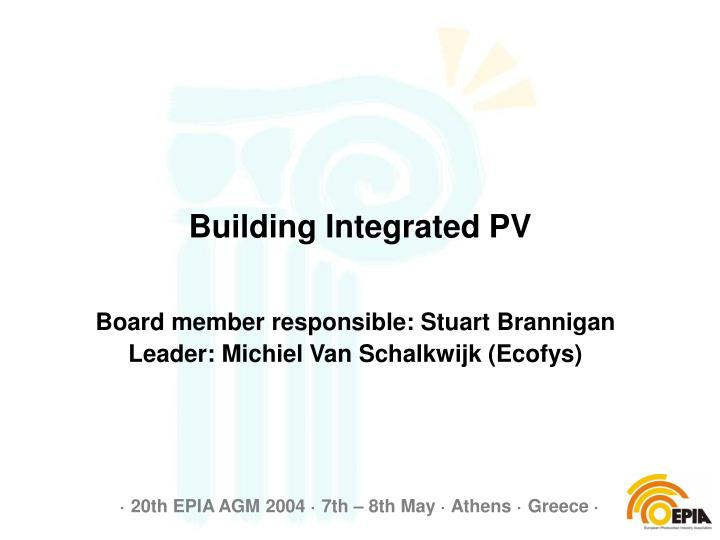 building integrated pv n.