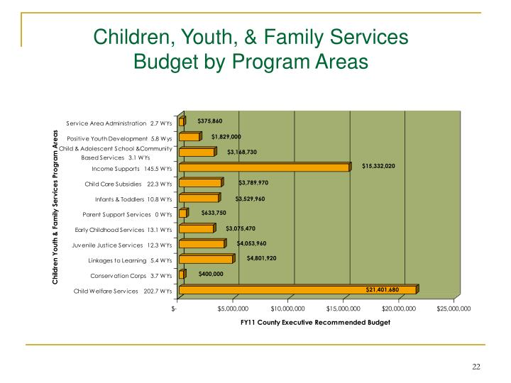Children, Youth, & Family Services