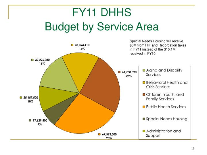 FY11 DHHS