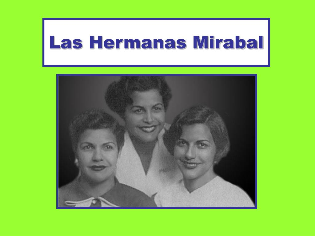 las hermanas mirabal l.