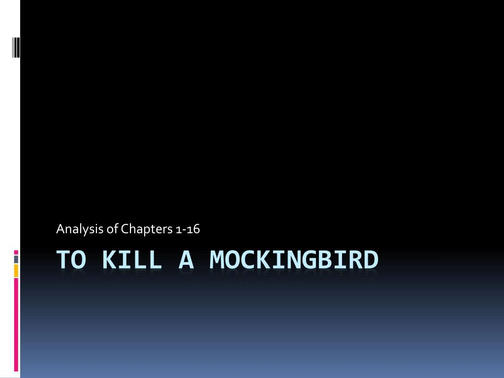 what happens in chapter 16 of to kill a mockingbird