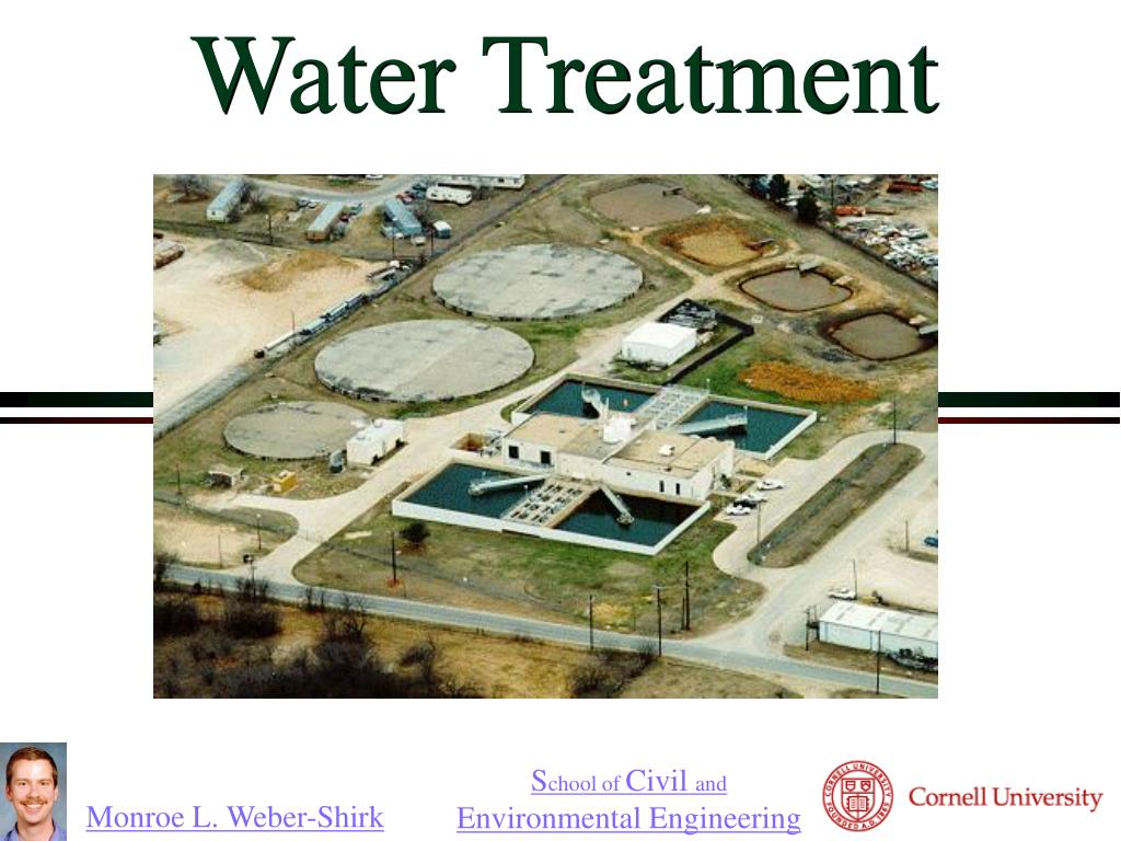 PPT - Water Treatment PowerPoint Presentation - ID:1050759