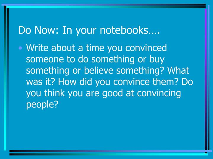 PPT - Do Now: In your notebooks…  PowerPoint Presentation