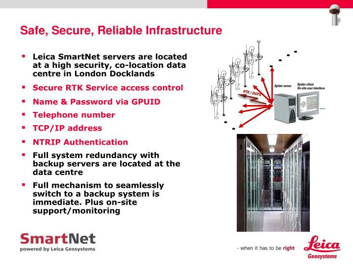 Safe, Secure, Reliable Infrastructure