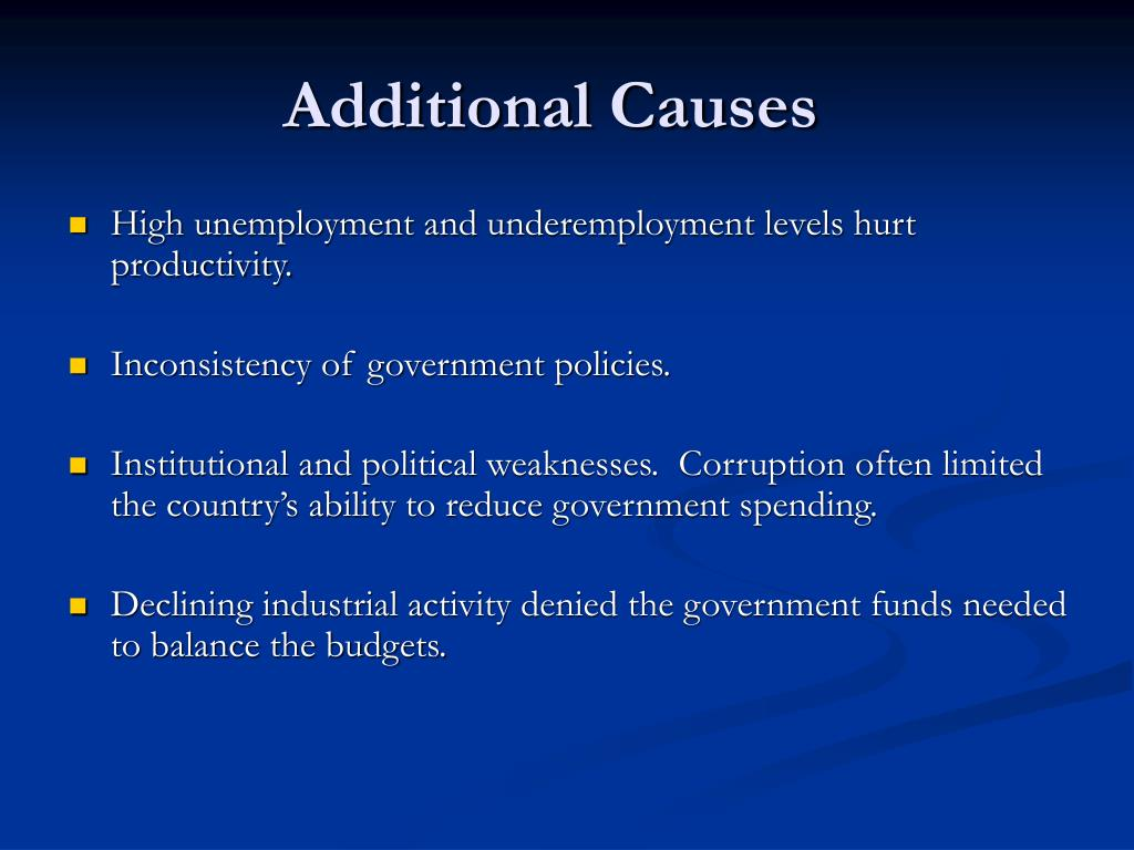 Additional Causes