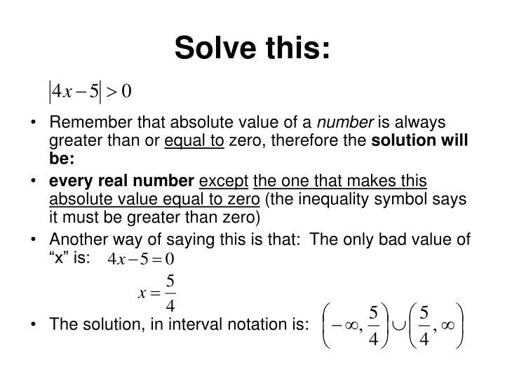 Solve this: