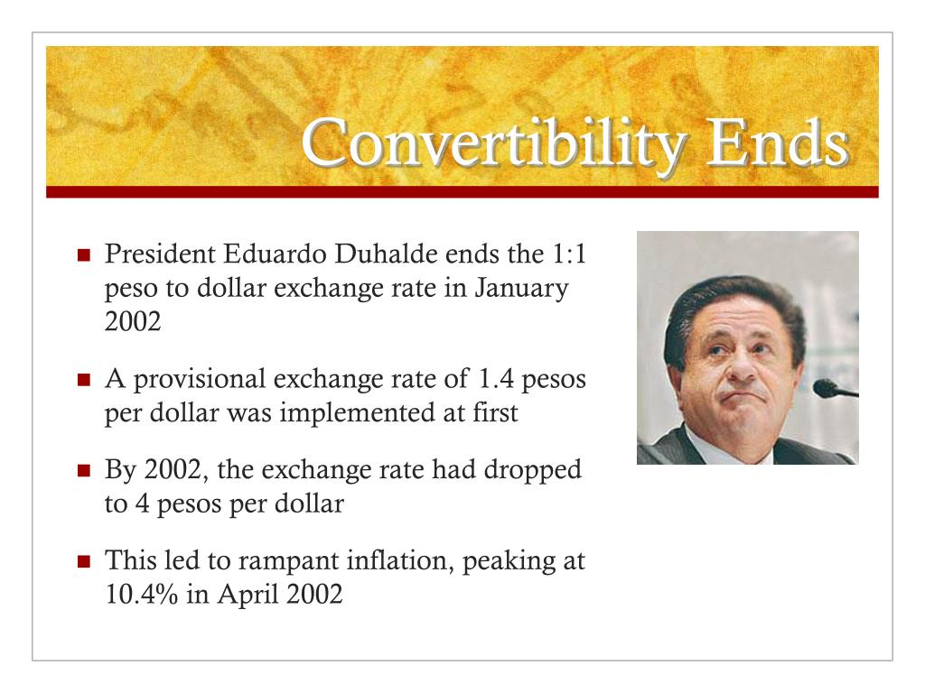 Convertibility Ends