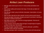 atribut lean producers