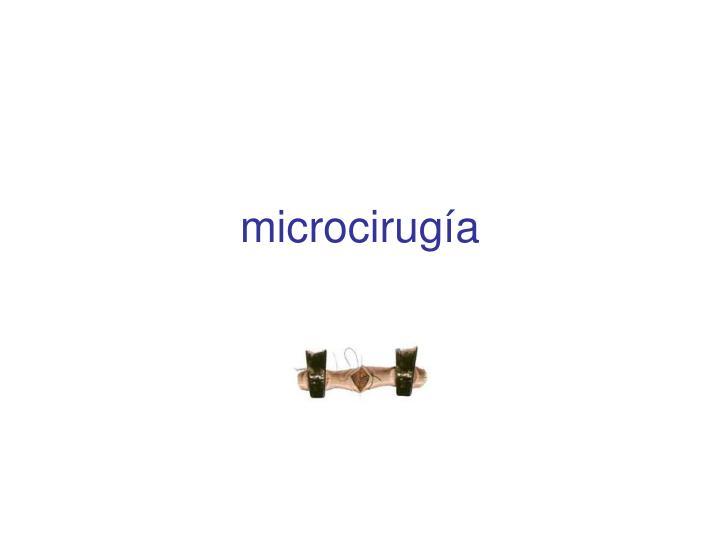 microcirugía