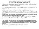 introduction to egra