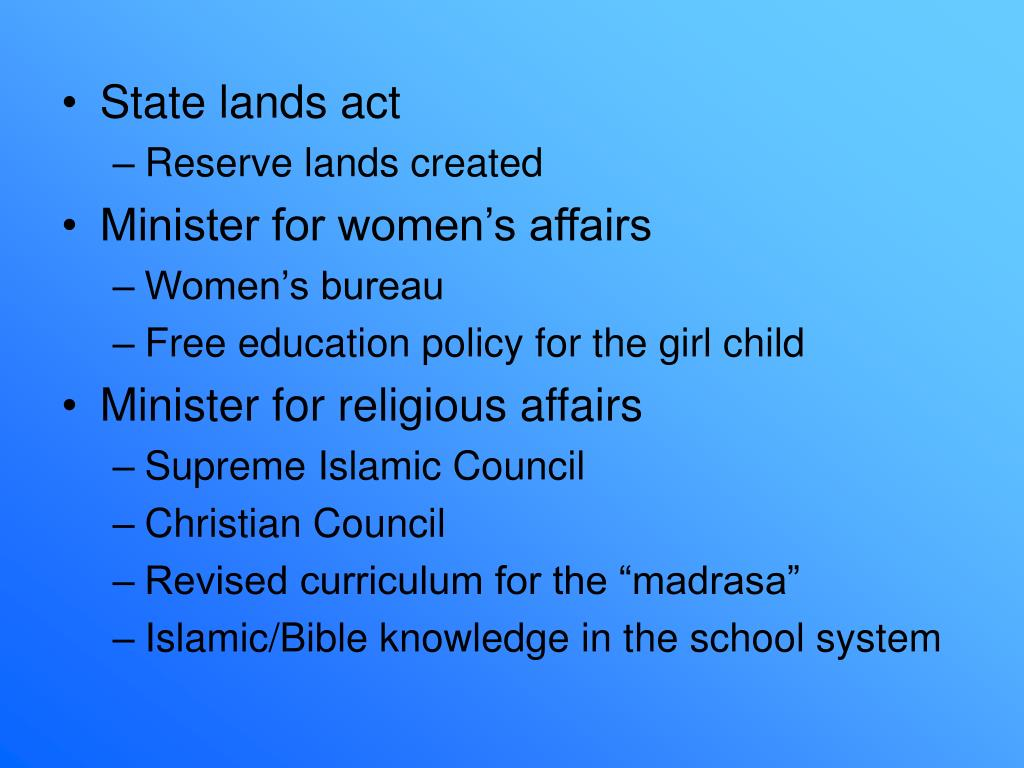 State lands act