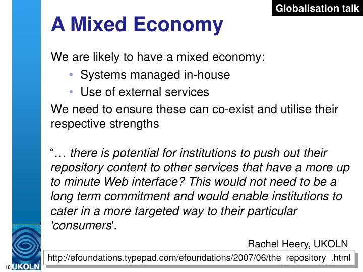 Globalisation talk