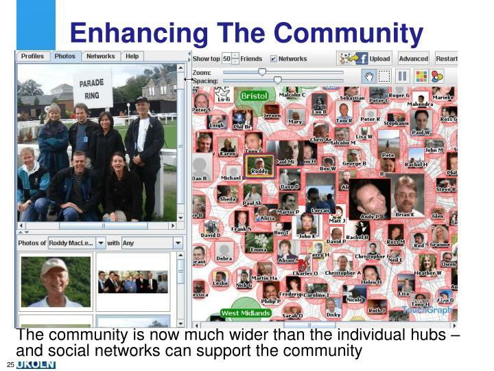 Enhancing The Community