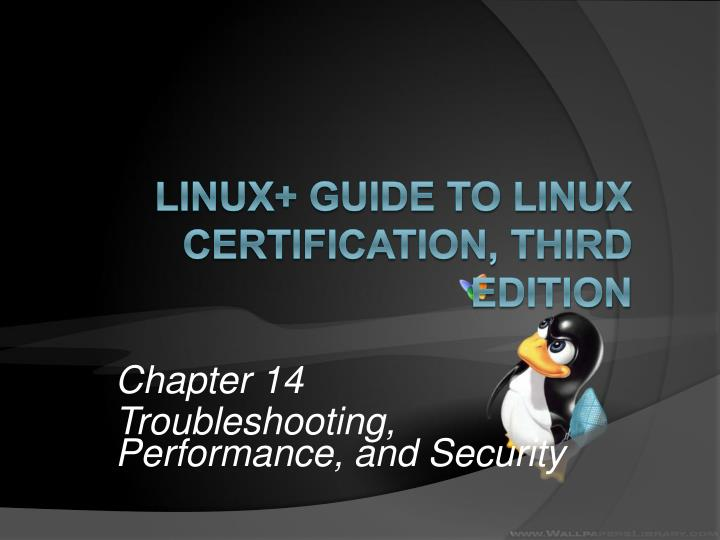 chapter 14 troubleshooting performance and security n.