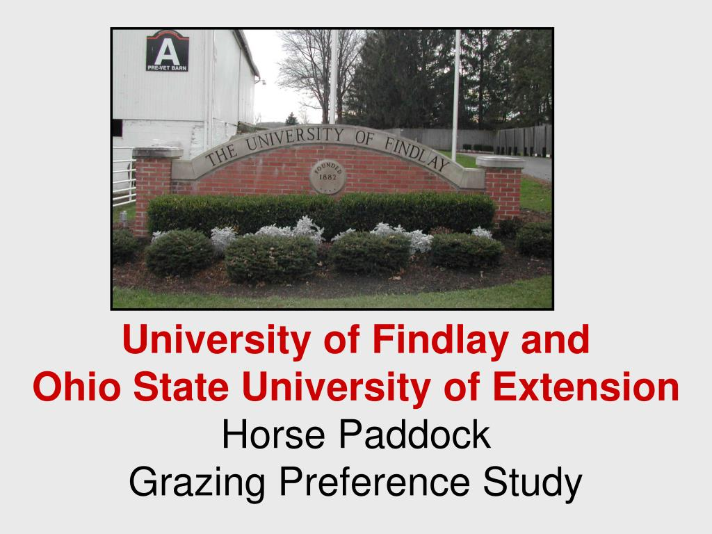 University of Findlay and