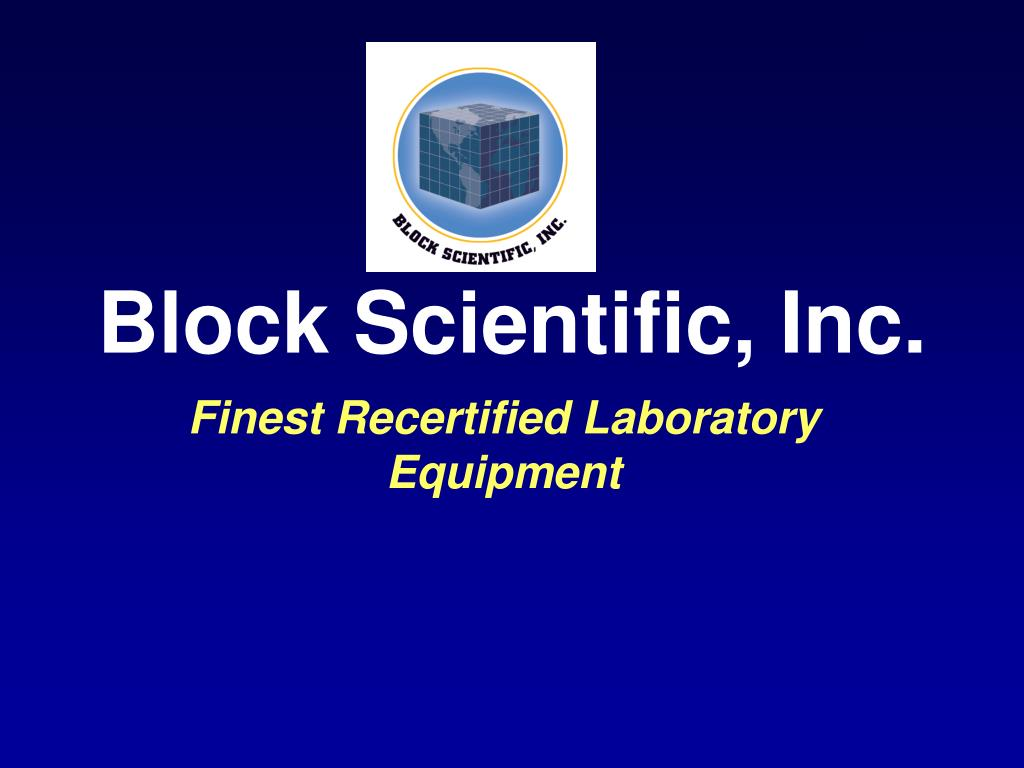 block scientific inc l.