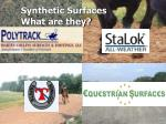 synthetic surfaces what are they
