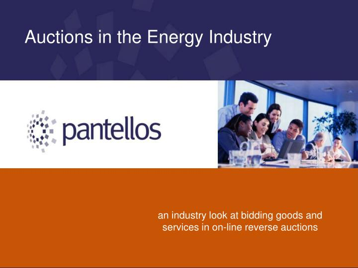 An industry look at bidding goods and services in on-line reverse auctions