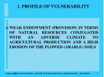 1 profile of vulnerability7