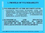 1 profile of vulnerability8