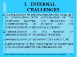 internal challenges24